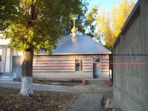 полевой храм г. Камышин